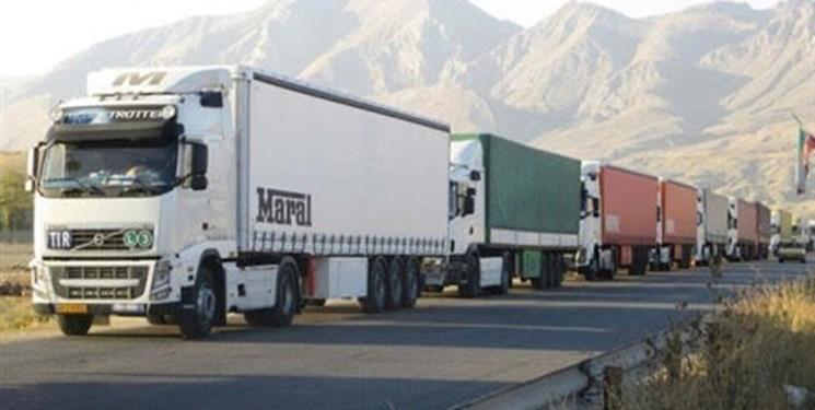 ترانزیت 2 هزار و 537 تن کالا از مرز بینالمللی مهران