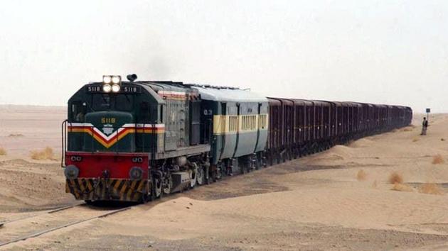 از سرگیری تردد قطار باری ایران پاکستان